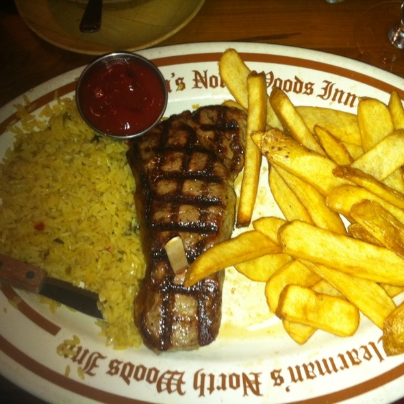 New York Steak - Clearman's North Woods Inn of San Gabriel, San Gabriel, CA