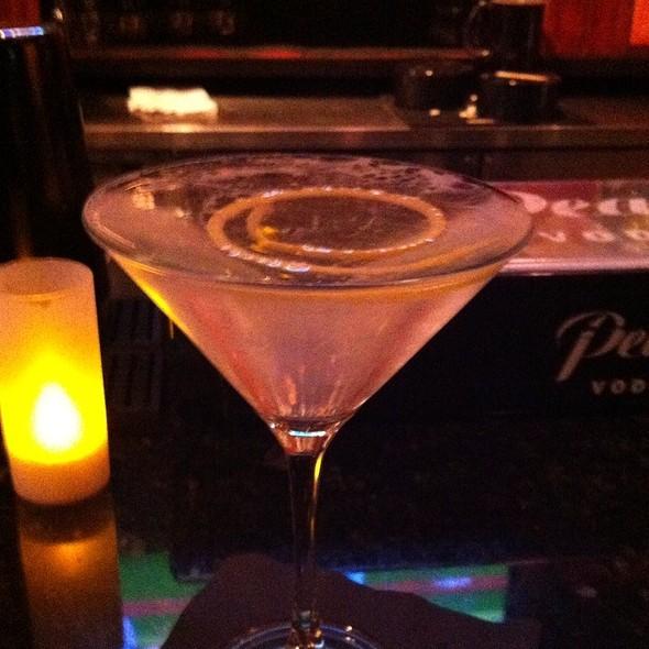 dry vodka martini with a twist of lemon - Tempo, Waltham, MA
