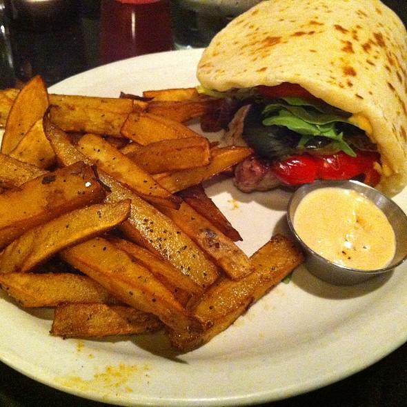 pork chop sandwich - Black Sheep Cafe, Provo, UT