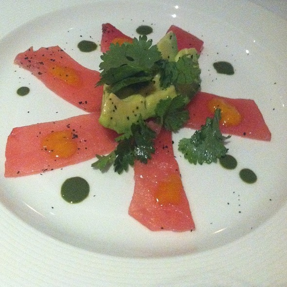 Yellowtail With Avocado - Jamestown FiSH, Jamestown, RI