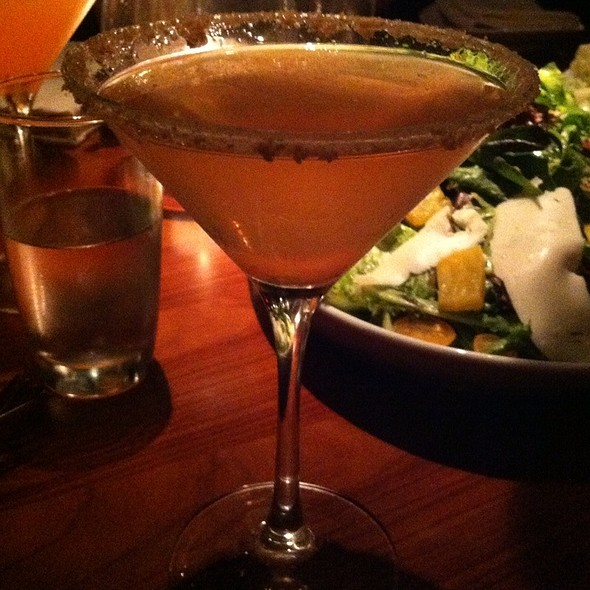Strawberry Cobbler Cocktail - STK - Atlanta, Atlanta, GA