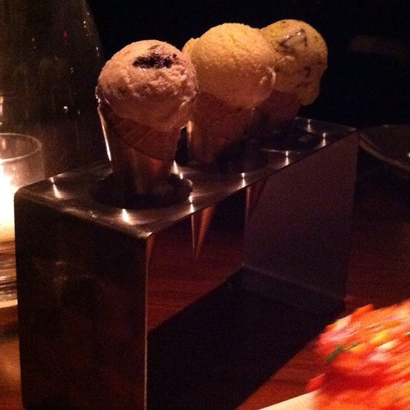 Mini Ice Cream Cone Bar - STK - Atlanta, Atlanta, GA