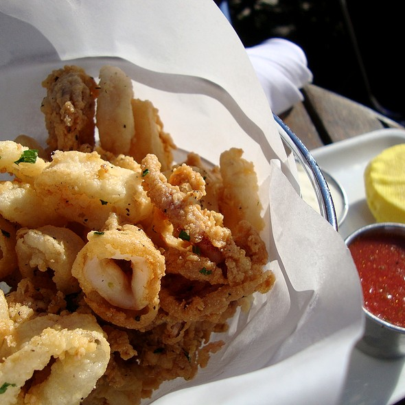 Fried Calamari - Cafeteria Boston, Boston, MA