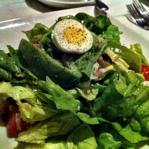 Snoopy Salad - Friday's Station Steak & Seafood Grill - Harrah's Lake Tahoe, Stateline, NV