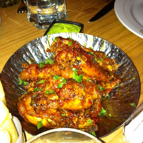 Chicken Wings - The Hurricane Steak & Sushi, New York, NY
