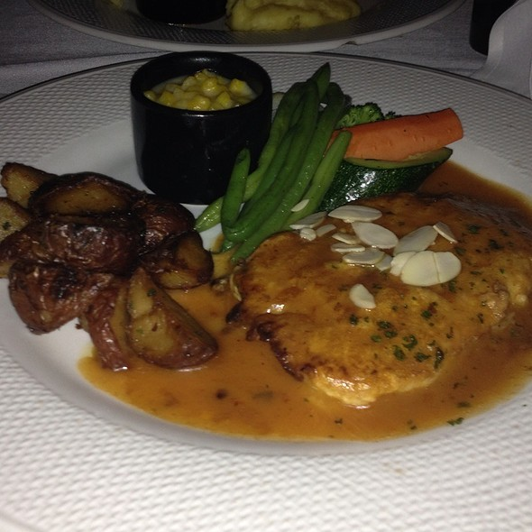 Calamari Steak With Baby Red Potatos - The Vintage Steakhouse, San Juan Capistrano, CA