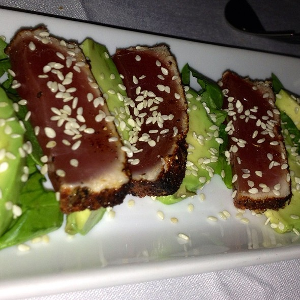Six Spice Ahi Tuna - The Vintage Steakhouse, San Juan Capistrano, CA