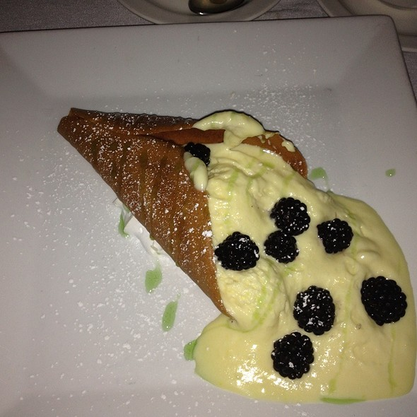 White Chocolate Mousse With Berries - The Vintage Steakhouse, San Juan Capistrano, CA