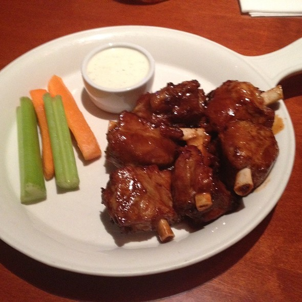 BBQ Pork Wings - Kelsey's at Pechanga Resort & Casino, Temecula, CA