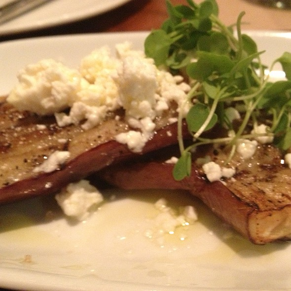 Grilled Eggplant - Level Small Plates Lounge, Annapolis, MD