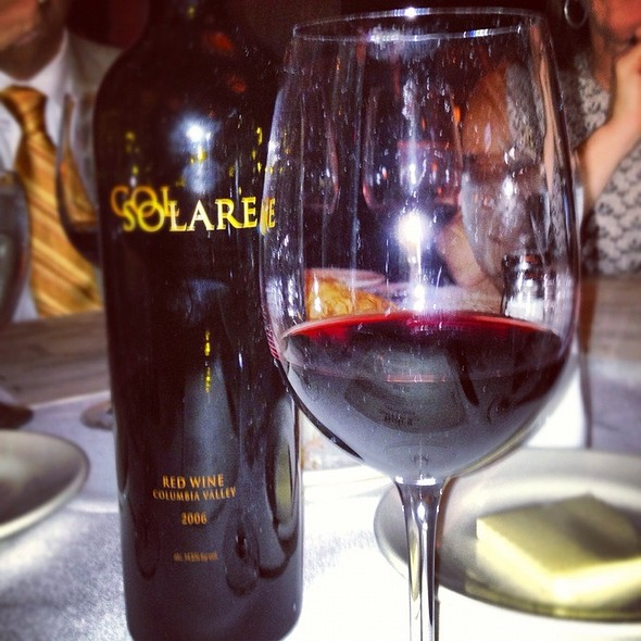 Col Solare Wine - Bob's Steak & Chop House - Grapevine, Grapevine, TX