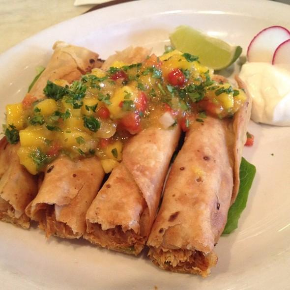 Chicken Flautas - Cha Cha's Latin Kitchen, Brea, CA