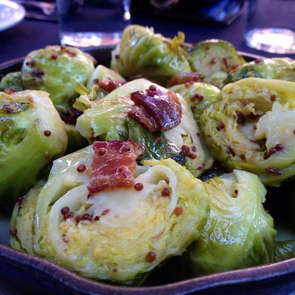 Roasted brussels sprouts - The Six - Studio City, Studio City, CA