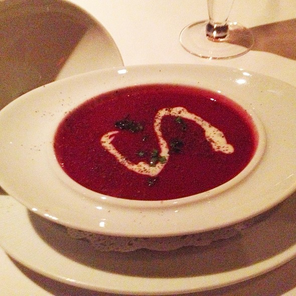 Beet Soup - On The Marsh Bistro, Kennebunkport, ME