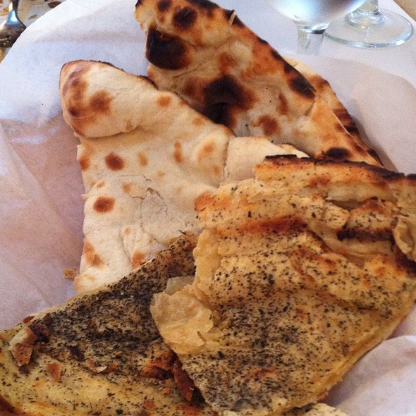 Naan Bread - Taj of India, Washington, DC