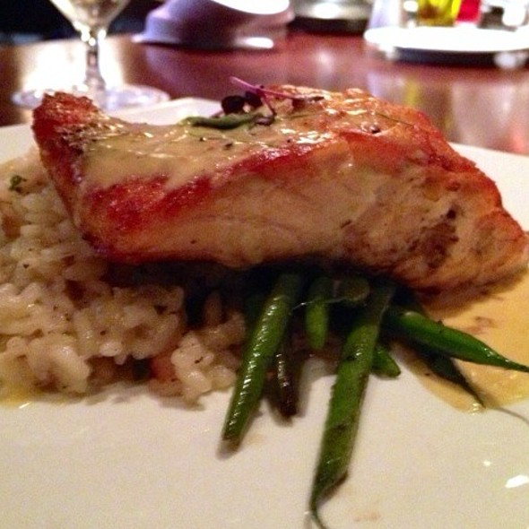 Atlantic Salmon - Davio's Northern Italian Steakhouse at Patriot Place, Foxboro, MA