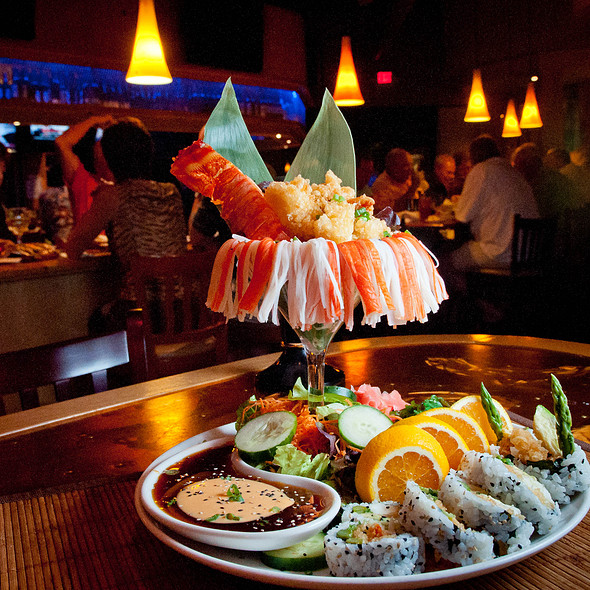 Lobster and fresh seafood #appetizer - Noodles Italian Cafe & Sushi Bar, Naples, FL