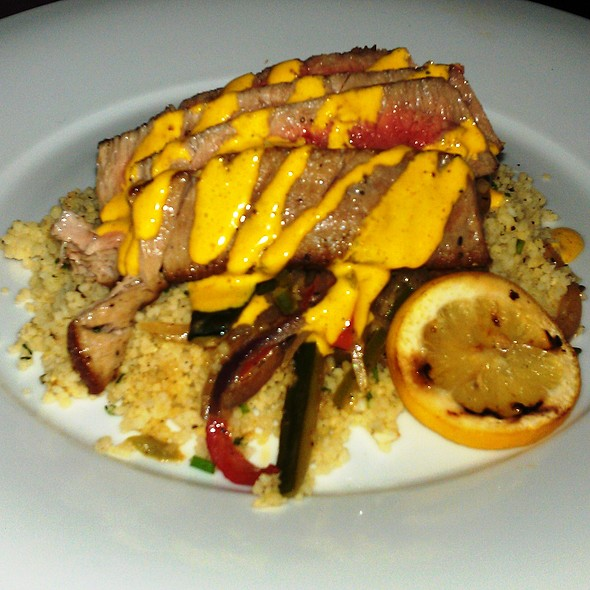 Seared Ahi on Cous Cous - Boca, Tampa, FL