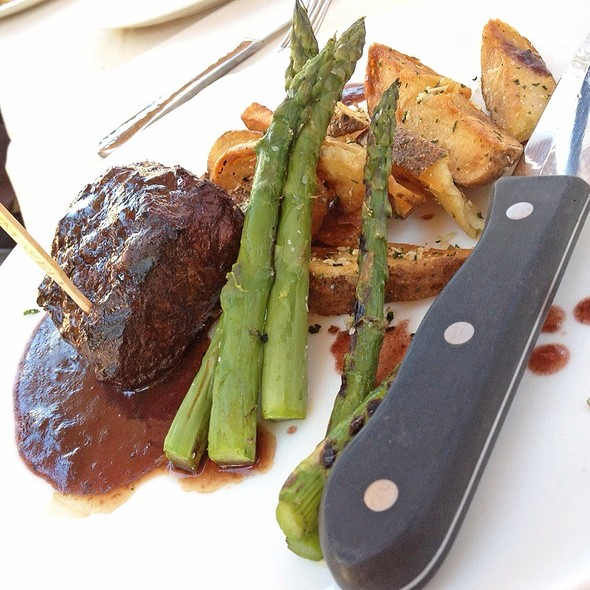 flat iron steak - The Restaurant at Ponte, Temecula, CA
