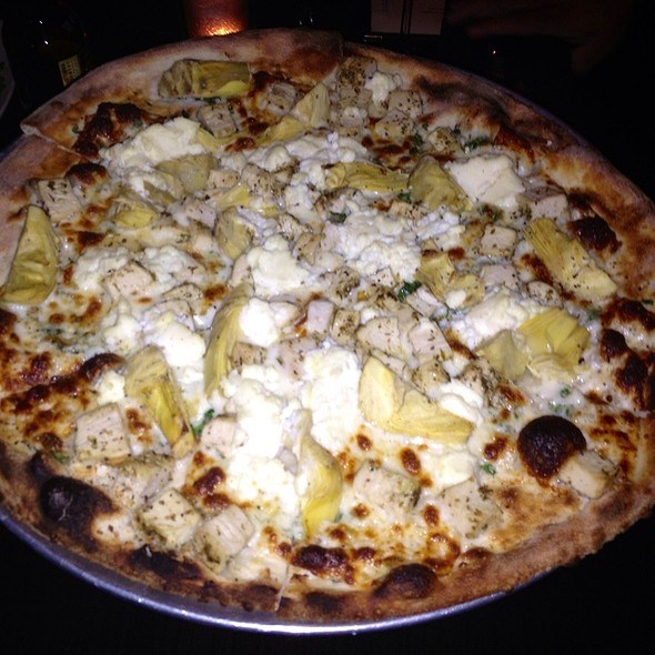 Chicken, Artichoke, Feta Pizza - Coal Vines, Kansas City, MO