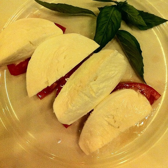 Tomatoes, Mozzarella And Basil - Sparks Steak House, New York, NY