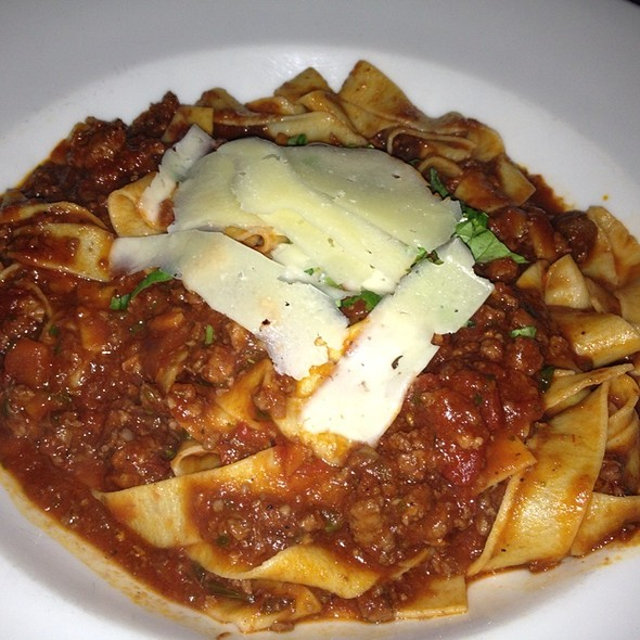 Pappardelle With Traditional Bolognese - Pelagia Trattoria, Tampa, FL