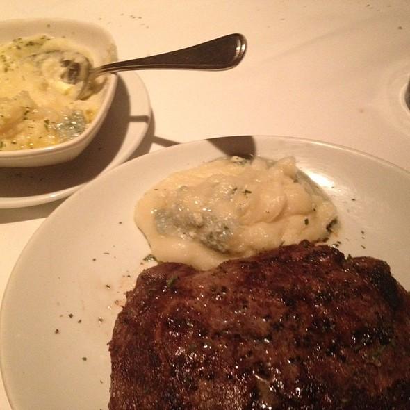Ribeye And Blue Cheese Potatoes - Fleming's Steakhouse - Salt Lake City, Salt Lake City, UT