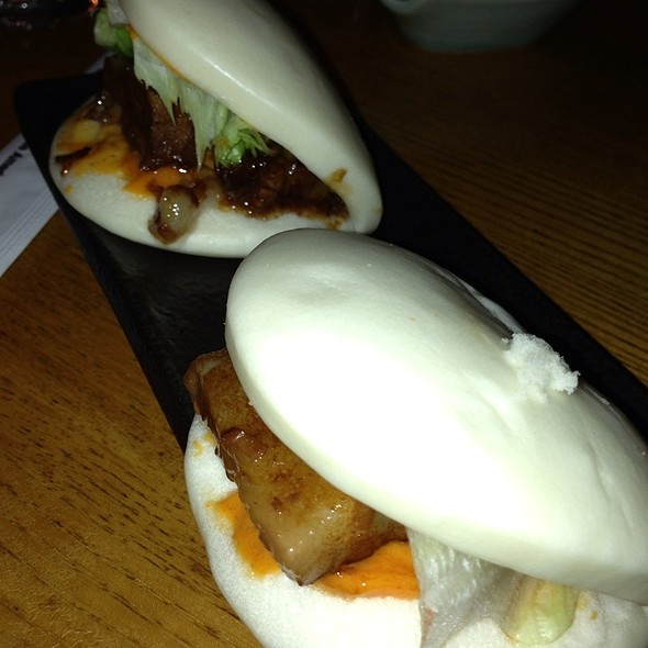Pork Belly Steamed Buns - Zutto Japanese American Pub, New York, NY