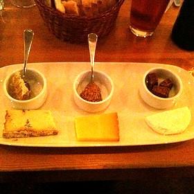 Cheese Tasting Plate - Salt Tasting Room, Vancouver, BC