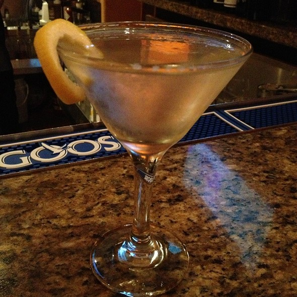 Vodka Martin With Limon Twist - The Whaling Station Steakhouse, Monterey, CA