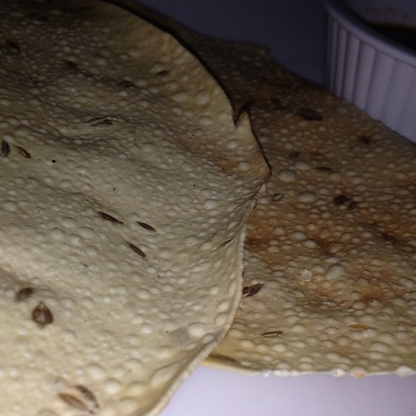 Papadum - Royal India, Austin, TX