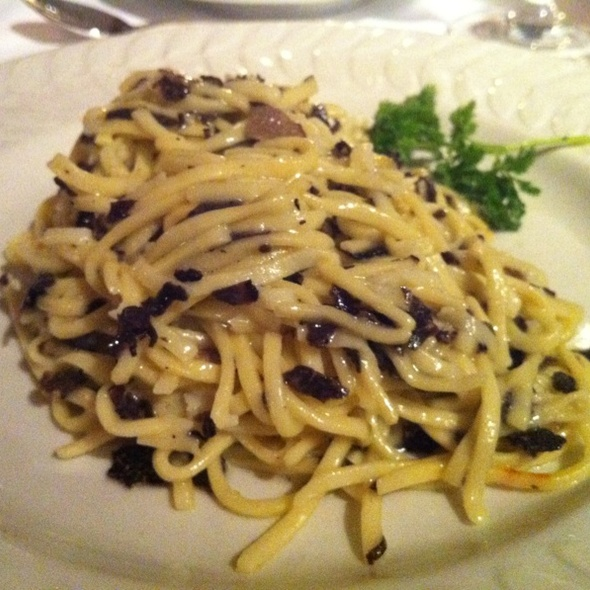 Pasta with black truffle - Left Bank Restaurant, Vail, CO