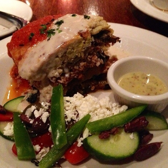Vegetarian Moussaka - Tin Angel, Nashville, TN