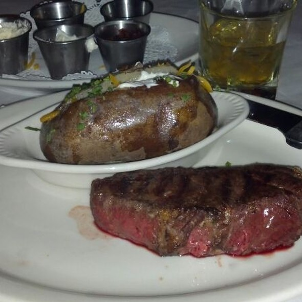 Free Range Byson New York Strip  12oz. - Pete Miller's Seafood and Prime Steak - Wheeling, Wheeling, IL