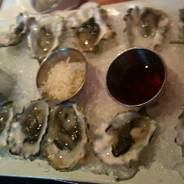 oysters on a half shell - The Brooklyn Seafood, Steak & Oyster House, Seattle, WA