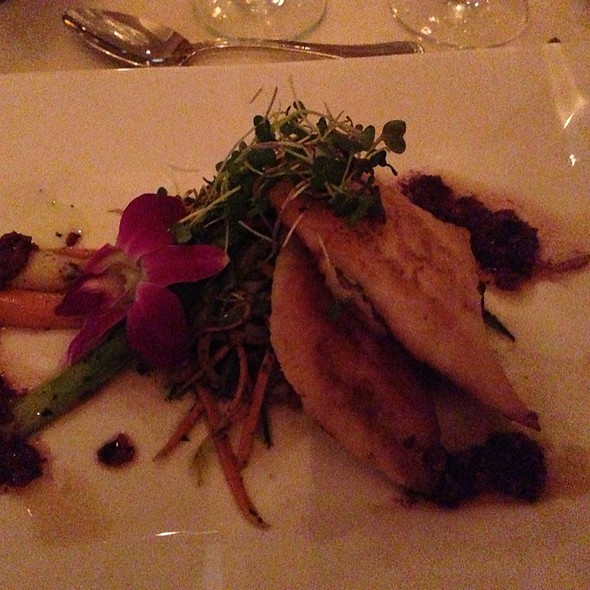 John Dory With Juliene Vegetable - La Bergerie, Alexandria, VA