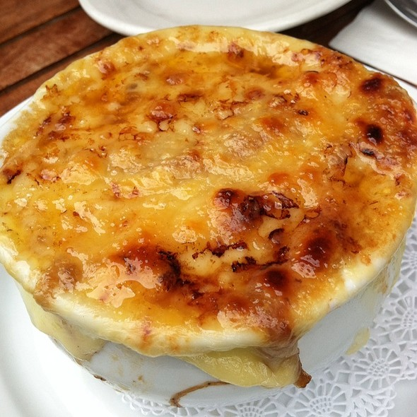 French Onion Soup - The Brass Rail, Hoboken, NJ