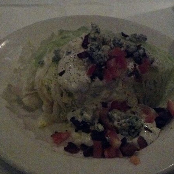 Iceberg Salad with Blue Cheese - Morton's The Steakhouse - Louisville, Louisville, KY