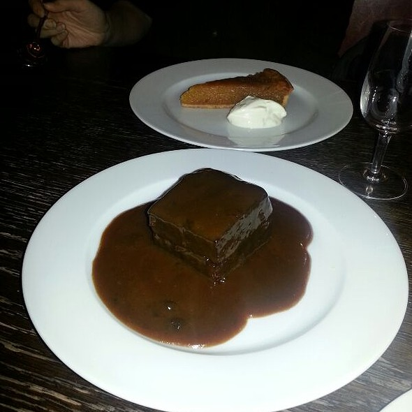Sticky Toffee Pudding - Hereford Road, London