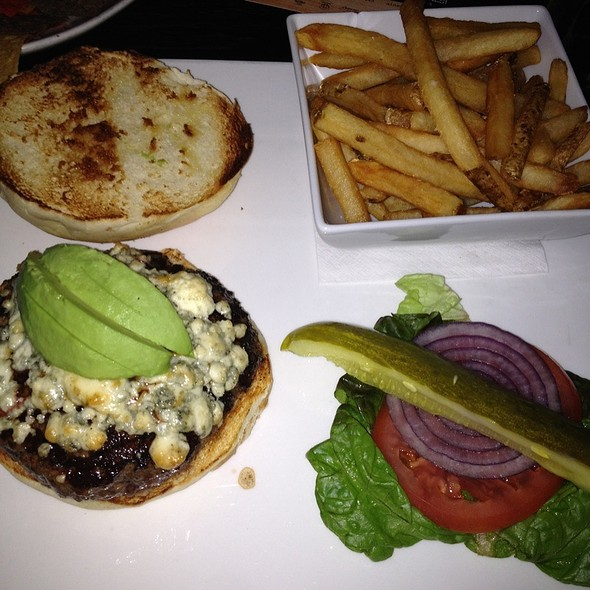 Burger With Blue Cheese And Avocado - The Ainsworth, New York, NY