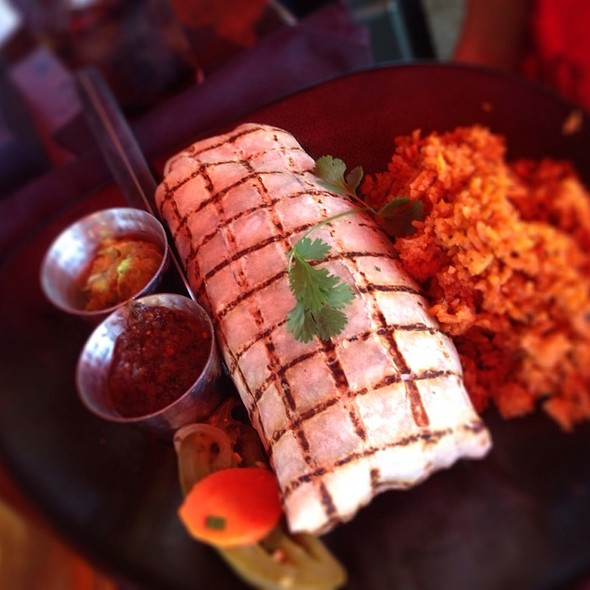 Chicken Burrito - SOL Cocina, Scottsdale, AZ
