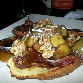 Banana's Foster French Toast - Touch Supper Club, Cleveland, OH