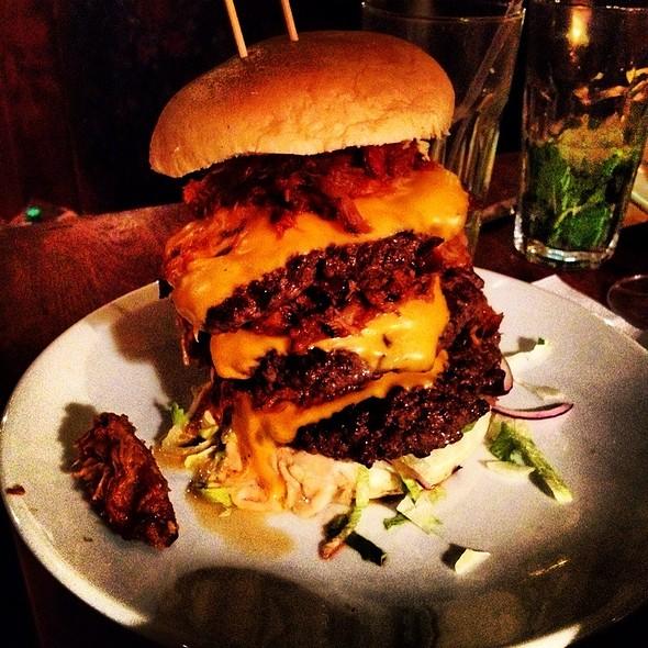 Devastator Burger - Red Dog Saloon Hoxton, London