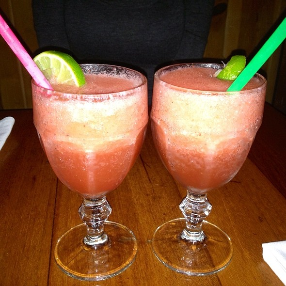 Strawberry Margaritas - Baja Cantina - Carmel, Carmel Valley, CA