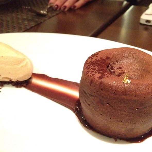 Chocolate mouleux  - Café Boulud, Toronto, ON