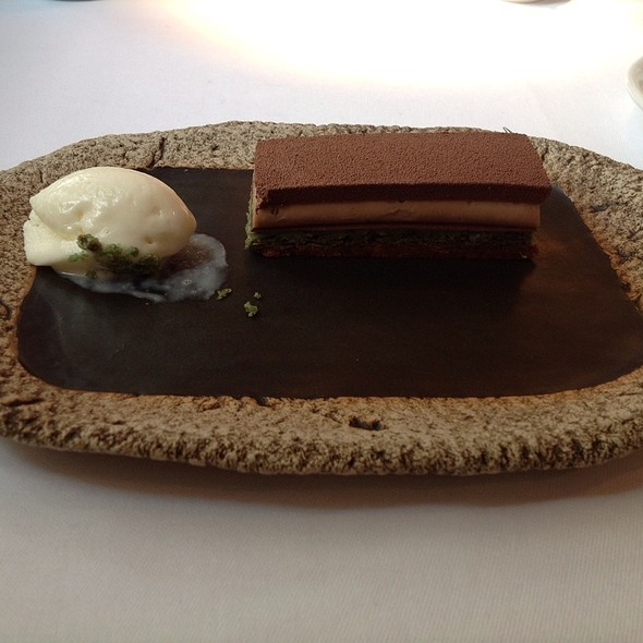 Desert Variety With Yuzu Sorbet And Hazelnut Green Tea Mousse - Henny's, Hamburg