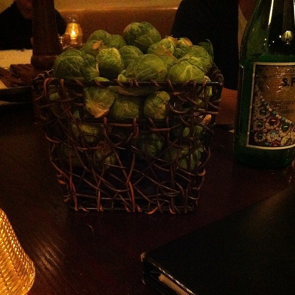 Brussel sprouts - Morton's The Steakhouse - Honolulu, Honolulu, HI