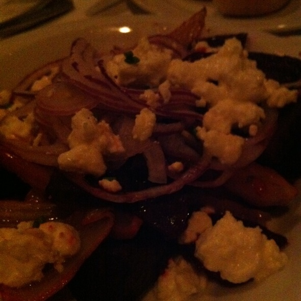 Roasted Beets With Fennel Feta And Red Onions - Suzanne's Cuisine, Ojai, CA