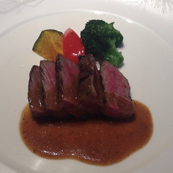 Wagu Beef In Wasabi Teriyaki Sauce - NOBU Tokyo, Minato-ku, Tokyo