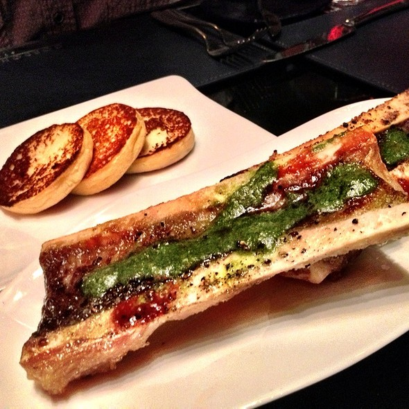 Demi-Roasted Bone Marrow - Gordon Ramsay Steak - Paris Las Vegas, Las Vegas, NV